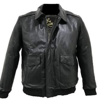 SID Mens Big & Tall Lambskin Leather Jacket, Biker Jacket