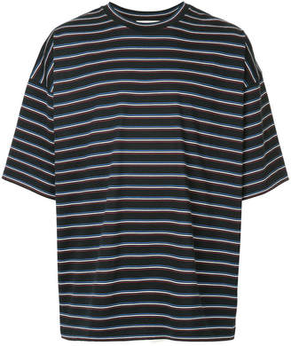 Monkey Time striped oversized T-shirt