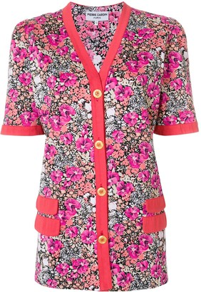 Pierre Cardin Pre-Owned floral buttoned blouse