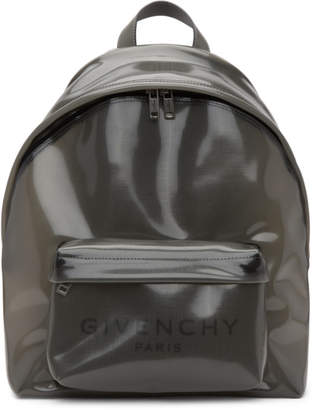 Givenchy Transparent Grey PVC Backpack