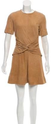Lover Suede Mini Dress