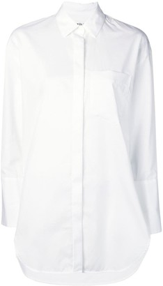 Enfold chest pocket shirt
