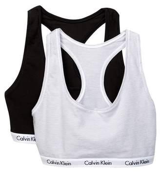 Calvin Klein Carousel Bralette - Pack of 2