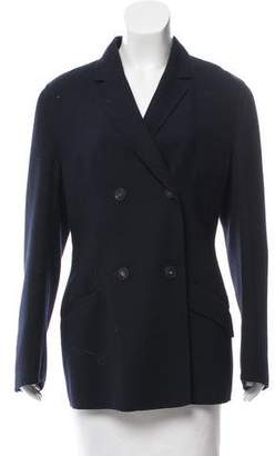 Agnona Wool Double-Breasted Jacket