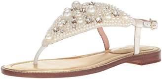 Kate Spade Women's SAMA Flat Sandal 6.5 Medium US