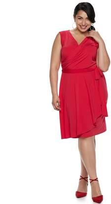 Plus Size Suite 7 Wrap Dress