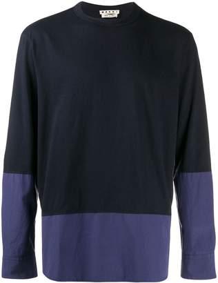 Marni colour-block sweatshirt