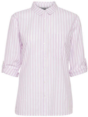 B.young B. YOUNG Hilse Striped Button-Down Shirt