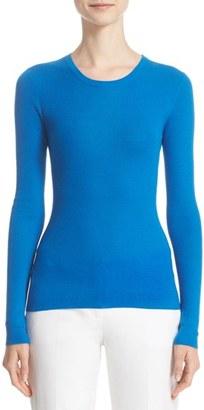 Women's Michael Kors Cashmere Crewneck Sweater $595 thestylecure.com