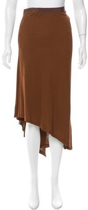 Jean Paul Gaultier Flared Midi Skirt $90 thestylecure.com