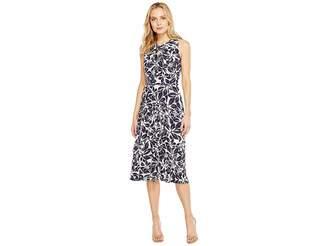 Christin Michaels Viola Sleeveless Fit and Flare Dress Women's Dress