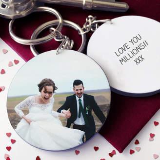 Hurley Sarah Personalised Valentine Photo Keyring
