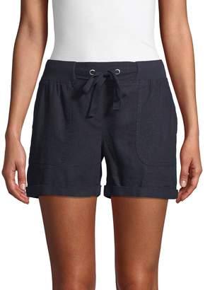 Alexander Jordan Linen-Blend Drawstring Shorts