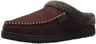 Dearfoams Men's Clog w/Whipstitch & MF