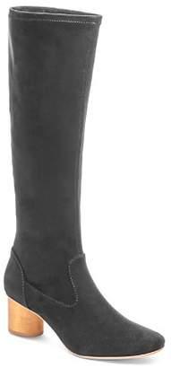 Bernardo Women's Dea Round Toe Suede High-Heel Boots