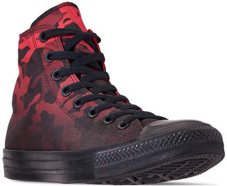 f0fb749b3133 Converse Men Chuck Taylor All Star Gradient Camo High Top Casual Sneakers  from Finish Line