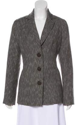 Magaschoni Wool-Blend Notch-Lapel Blazer