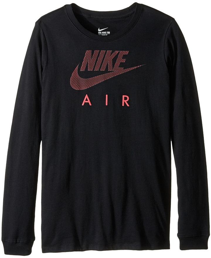 Nike Kids Cotton Long Sleeve Air TD (Little Kids/Big Kids)