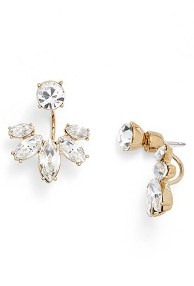 Women's Marchesa Marquise Crystal Ear Jackets $58 thestylecure.com