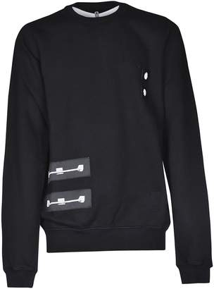 Drkshdw Patch Jersey Sweatshirt