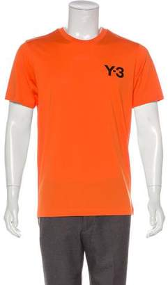 Y-3 Logo Crew Neck T-Shirt