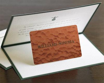Williams-Sonoma Gift Cards