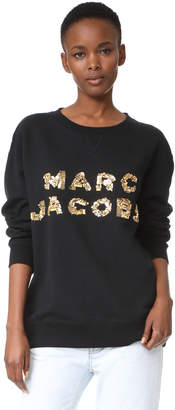 Marc Jacobs Oversized Logo Sweatshirt
