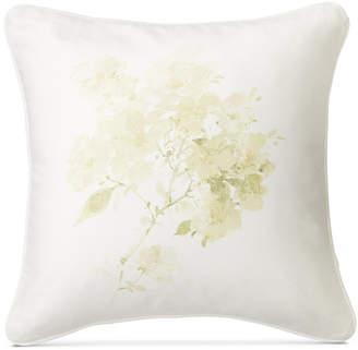"""Lauren Ralph Lauren Lakeview Floral-Print 18"""" Square Decorative Pillow Bedding"""