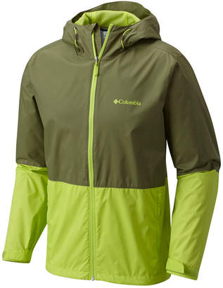 Columbia Men's Roan Mountain Colorblocked Rain Jacket