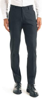 Good Man Brand Flat Front Stretch Wool Trousers