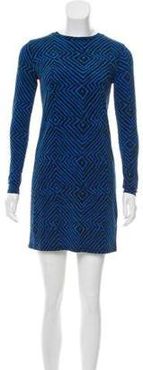 MICHAEL Michael Kors Long Sleeve Printed Dress