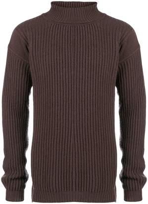 Rick Owens roll neck sweater