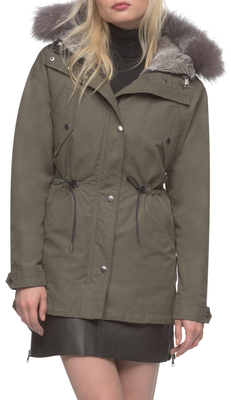 Miranda Cotton Hooded Parka $1,195 thestylecure.com
