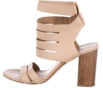 Vince Leather Multistrap Sandals