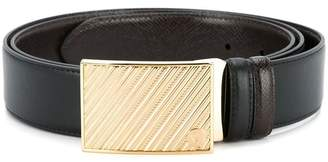 Gieves & Hawkes slide catch buckle belt