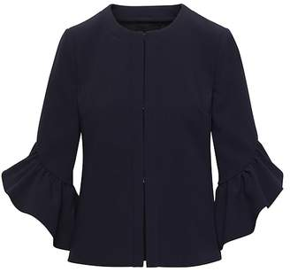Banana Republic Petite Bi-Stretch Bell-Sleeve Jacket