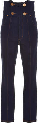 Alice McCall Jadore Contrast Stitch High-Waisted Jeans