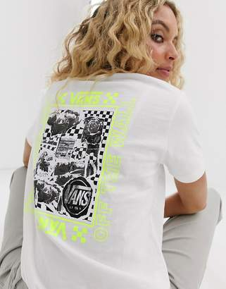 Vans Lady Sting white t-shirt