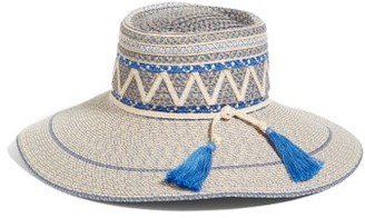 Women's Eric Javits Palermo Squishee Wide Brim Hat - Beige $325 thestylecure.com