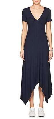 A.L.C. Women's Reva Twist-Detailed Rib-Knit Dress