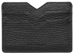 Mackage Wes Double Sided Leather Cardholder In Black