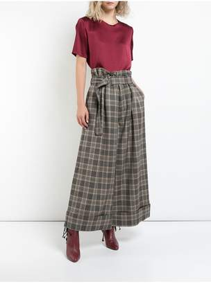 ADAM by Adam Lippes Double Face Wool Wide-Leg Culotte