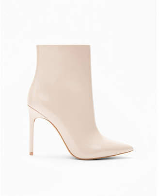 Express pointed toe heeled booties