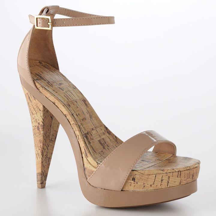 Lc lauren conrad platform sandals