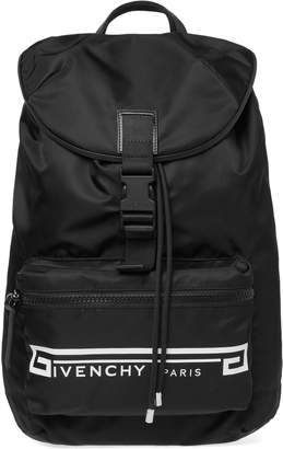 Givenchy Retro Logo Flames Backpack