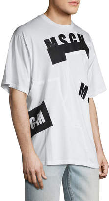 MSGM Raw Edge T-Shirt