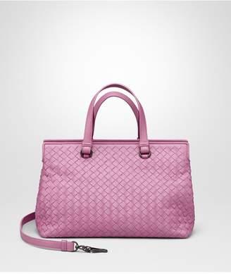 Bottega Veneta Twilight Intrecciato Nappa Medium Top Handle Bag