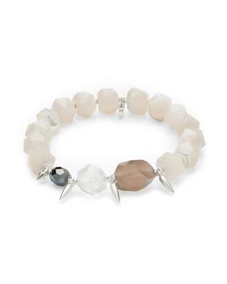 Kendra Scott Sadie Silver Stretch Bracelet