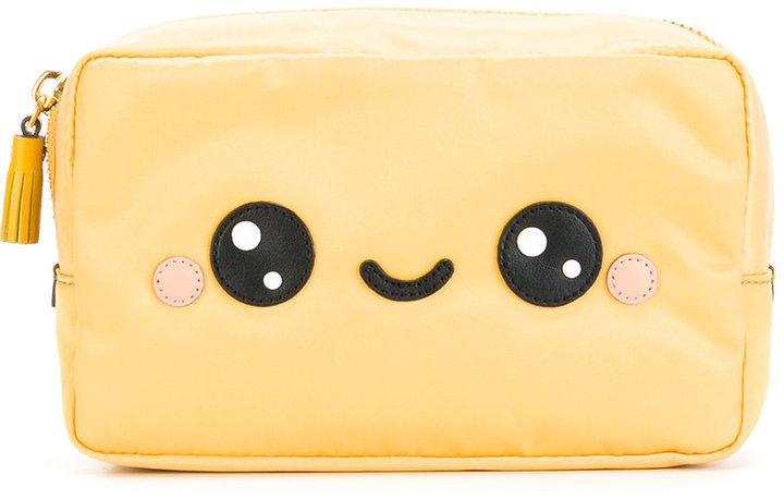 Anya HindmarchAnya Hindmarch smiley face make up bag