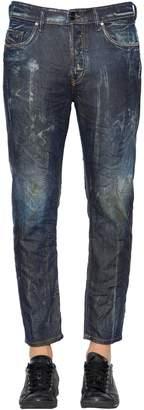Diesel 17cm Jifer Dirtied Boxy Denim Jeans